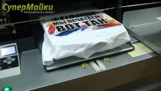 Печать на футболках в интернет-магазине