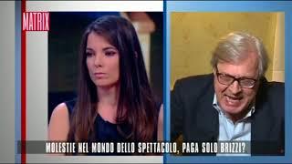 Caso Brizzi, Vittorio Sgarbi vs Giulia Innocenzi