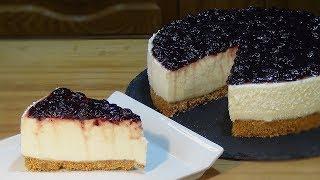 Receta Cheesecake fácil, rápida y sin horno - Recetas de cocina, paso a paso, tutorial