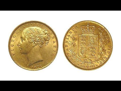 1872M Rare Melbourne Mint Gold Sovereign