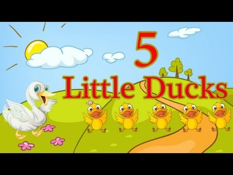 Five Little Ducks  Spring Songs for Children  Nursery Rhymes   The Learning Station