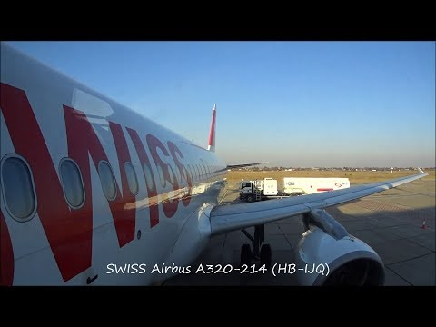 SWISS |FLIGHT REPORT| Airbus A320-214 (HB-IJQ) Flight LX1417 Belgrade - Zurich
