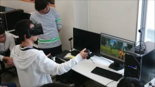 【VR授業】シーエスレポーターズ特別授業 発表会!その1【新潟コンピュータ専門学校】VR MR AR ゲーム thumbnail