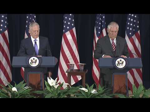 Secretary Tillerson and Secretary Mattis Joint Press Availability