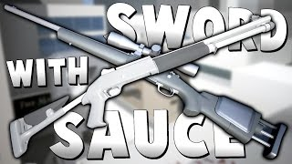 THE GUNS ONLY CHALLENGE! - City Level On Insane! - Sword With Sauce Alpha Gameplay