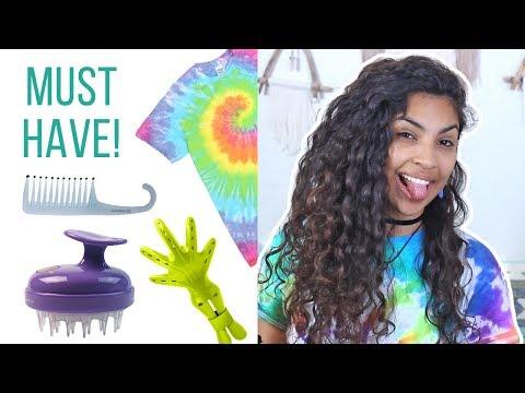 My Favorite Curly Hair Tools