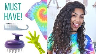 My Favorite Curly Hair Tools