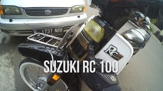 #RIDINGIMPRESSION | SUZUKI RC100 / RC 100 | TEST RIDE | MOTOVLOG |