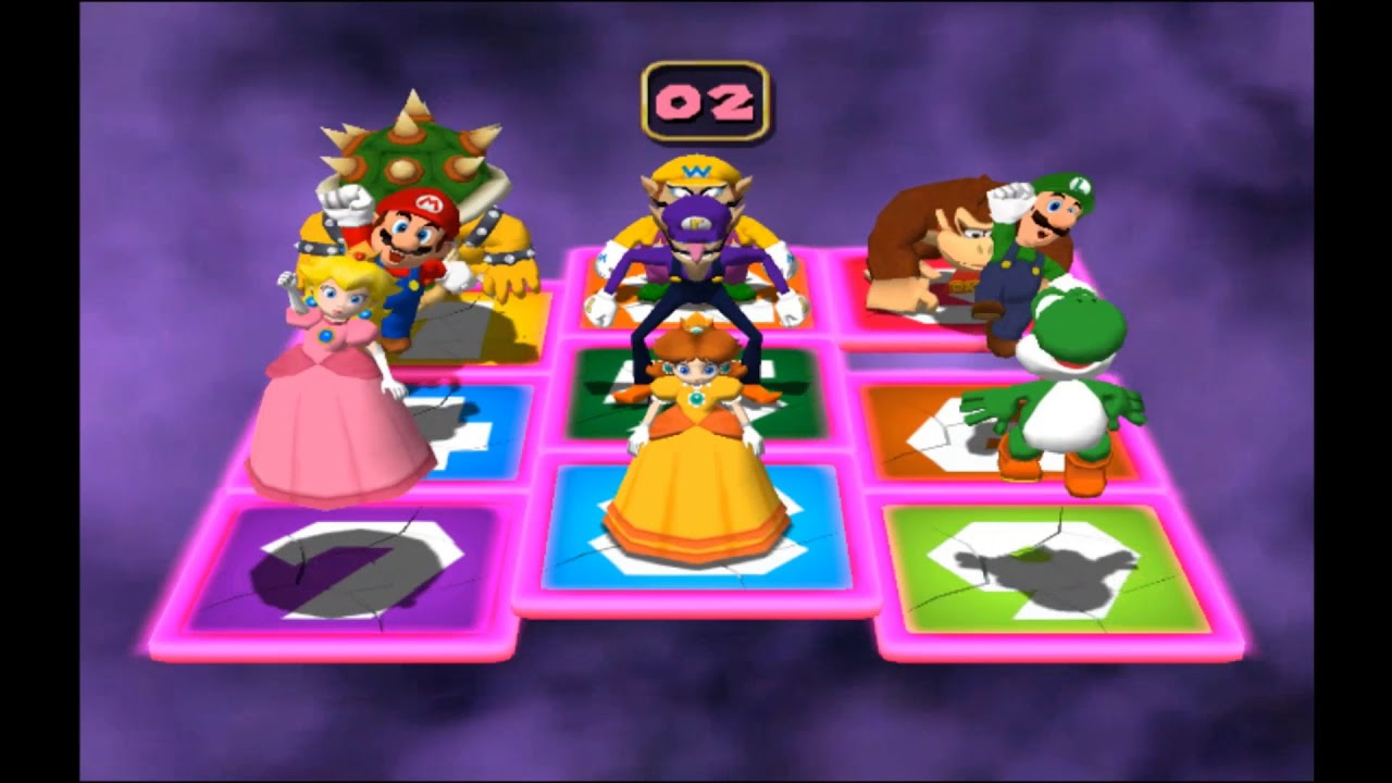 Mario Party 4 - Panel Panic #2 ~EASTER SPECIAL~