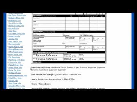 Pizza Hut - Solicitud de Trabajo - YouTube