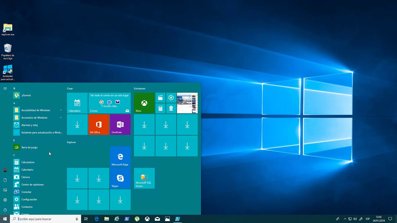 Reinstalar La Tienda De Windows En Windows 10 Youtube