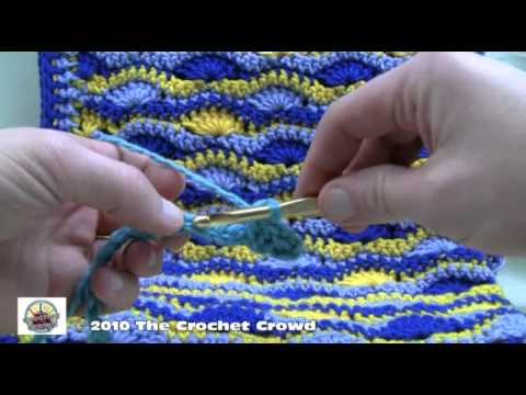 How to Crochet A Blanket - Starting and Finishing Part 1