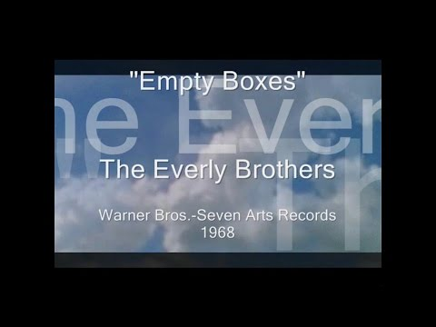 Everly Brothers - Empty Boxes