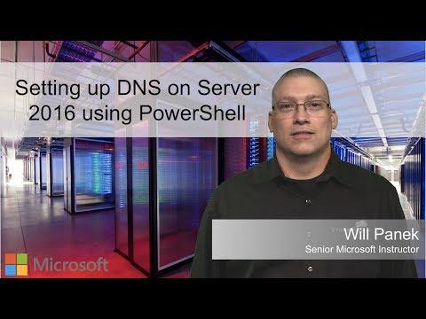Setting Up DNS On Server 2016 Using PowerShell