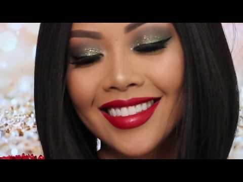 DIY Festive HOLIDAY Nutcracker Makeup | Liane V
