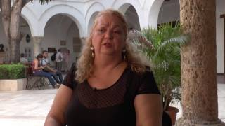 La escritora Carmen Mirabal estuvo en Unibac thumbnail