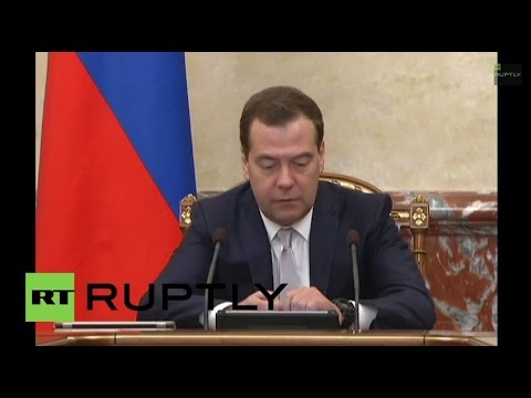 Russia: 'Supply emergency gas to Ukraine' - Medvedev
