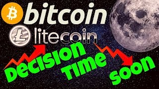🚀BITCOIN and LITECOIN DECISION TIME SOON!🚀 btc ltc price prediction, analysis, news, trading