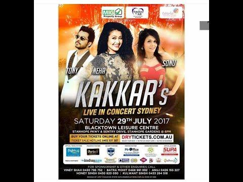 Neha Kakkar's | Full Family | Live in Concert | Black Town LEISURE Centre | Sydney Australia 2017