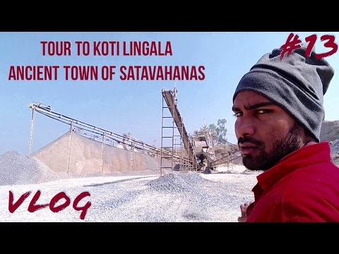 Tour to Koti Lingala ancient town of shatavahanas   Velgatoor   Telugu Vlog #13