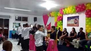 Coreografia Semear   Rendição   Ministerio Hebrom