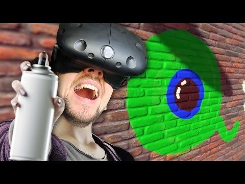MY GRAFFITI MASTERPIECE | Kingspray VR (HTC Vive Virtual Reality)
