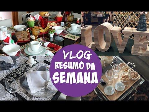VLOG DA SEMANA - CAFÉ DA MANHÃ DE NATAL, MESA POSTA ANO NOVO, GOIÂNIA E MAIS!