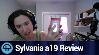 Sylvania a19 Color Light Bulb Review
