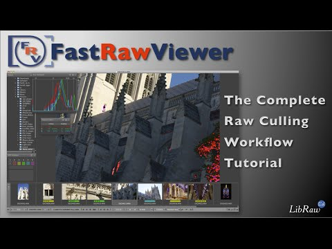 FastRawViewer WorkFlow Tutorial