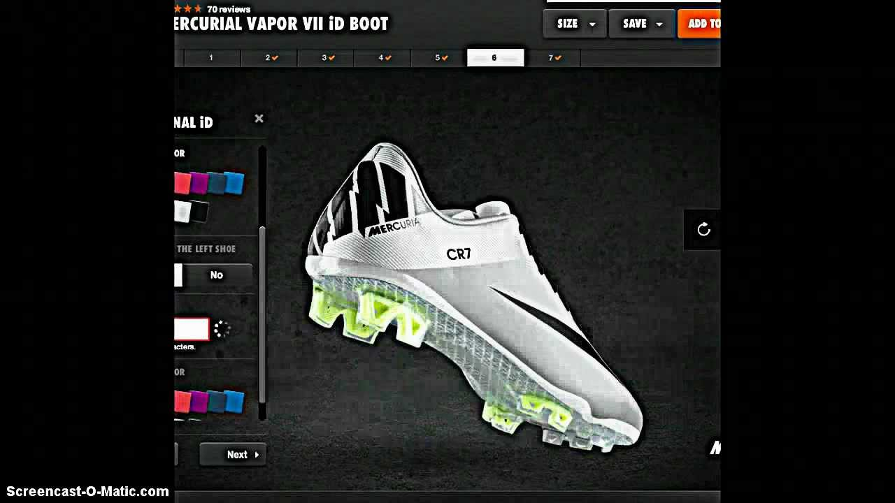 how to draw cr7 shoes