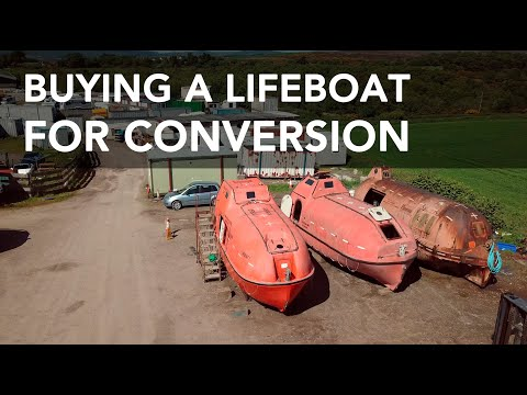 Lifeboat Conversion Ep1: Buying Alan [4K]