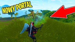 *NOWY* PORTAL OBOK MOCZARÓW! (Właśnie znaleziony) | Fortnite Battle Royale