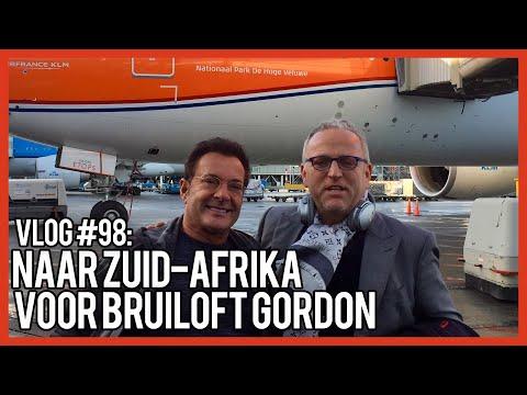NAAR ZUIDAFRIKA VOOR DE BRUILOFT VAN GORDON GERARD JOLING VLOG #98