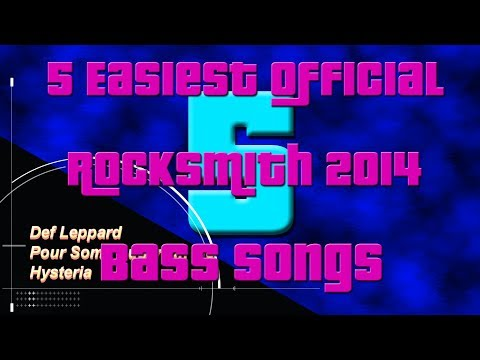 5 Easiest Official Rocksmith 2014 Bass Songs