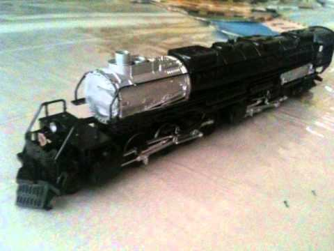 "Custom Galaxy Railways ""Big One"" locomotive model"
