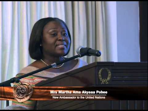 Ghana's new Ambassador & Permanent Representative to the UN sworn into office
