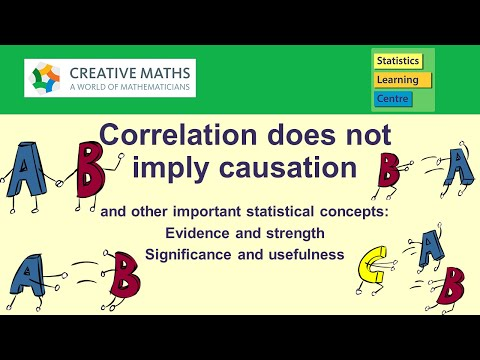Important statistical concepts: significance, strength, association, causation - Statistics Help
