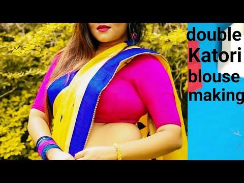 38 Size Double Katori (bra Cut) Cutting And Stitching Step By Step