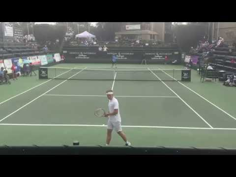 Mackie McDonald vs Stefan Kozlov 2016 Aptos Challenger