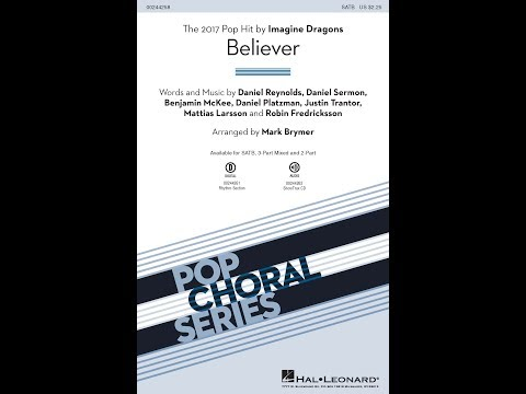 Believer (SATB) - Arranged by Mark Brymer