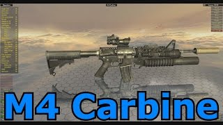 Lets Play World of Guns: Gun Disassembly 95 - M4 Carbine Assault Rifle