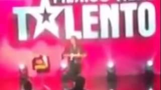 Mago Batlord y Abracadaver en México Tiene Talento Octubre 2014