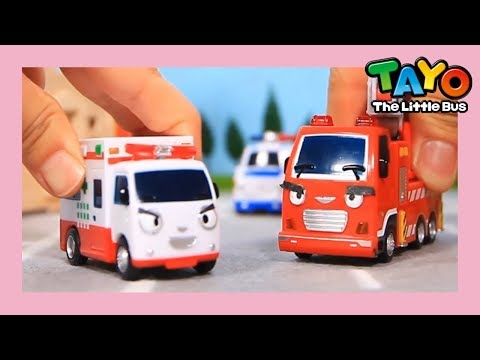 Tayo Make up, Frank and Alice! l Tayo Toys Story l Tayo the Little Bus