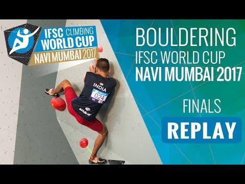 IFSC Climbing World Cup Navi Mumbai 2017 - Bouldering - Finals - Men/Women
