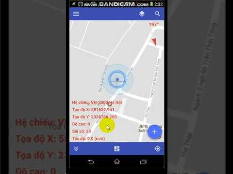 Tìm điểm VN2000 trên điện thoại, Phần mềm trắc địa trên điện thoại GeoSurvey