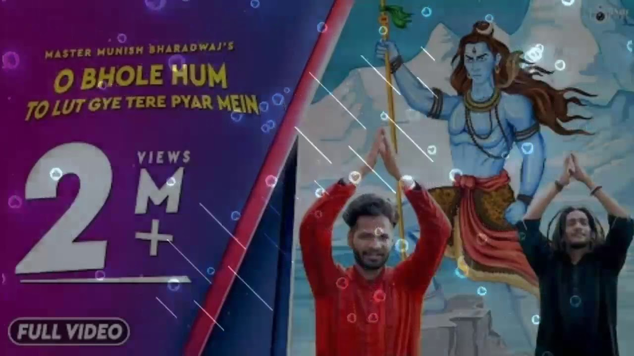 Download O Bhole Hum To Lut Gye Tere Pyar Mein | Master Munish Bharadwaj | Official Video | iSur Studios |