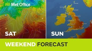 Weekend weather - How hot will it be this weekend? 22/08/19