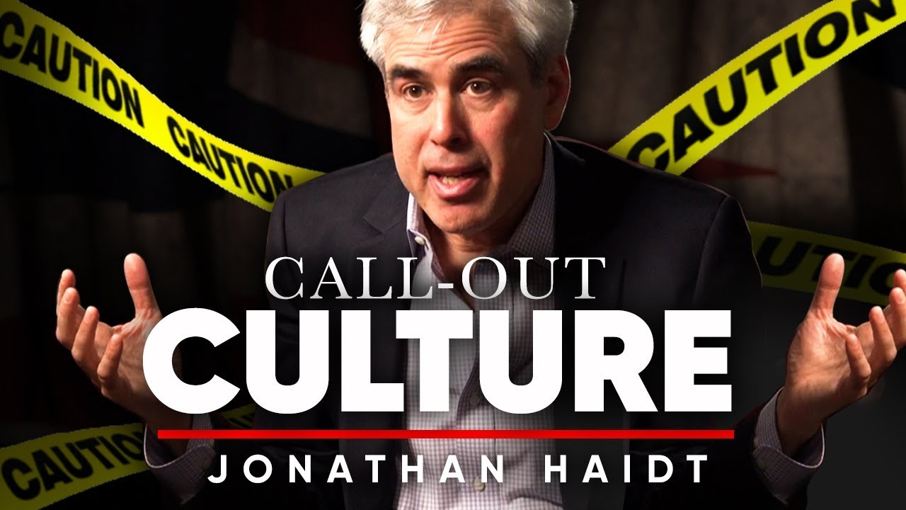 JONATHAN HAIDT - CALL OUT CULTURE: Why Is There So Much Social Media Abuse? | London Real