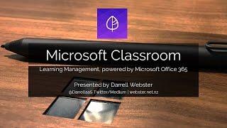 Introducing Microsoft Classroom