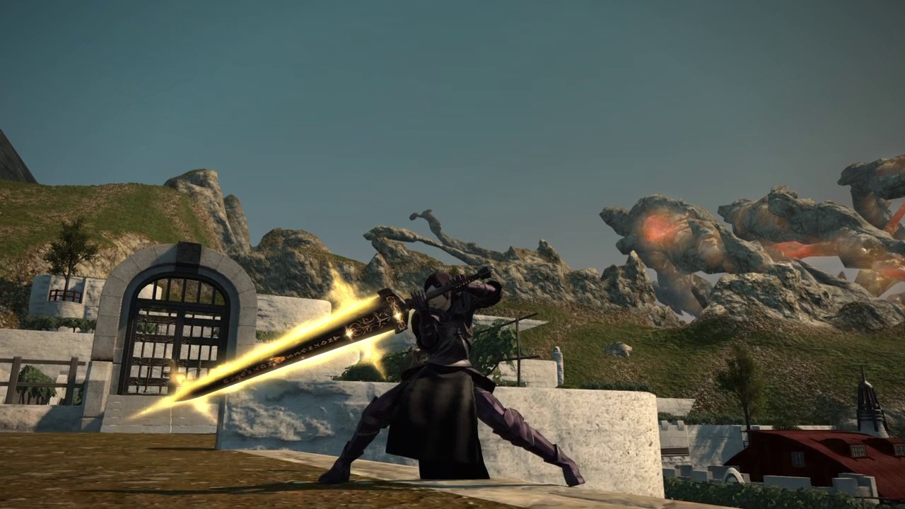 Look at the new hydatos armour : ffxiv